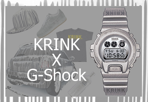 Krink G-Shock DW-6900kr-8 collaboration costello kinetics