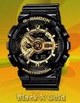 GA-110GB-1AJF G-Shock Black X Gold
