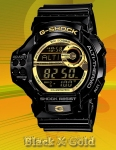 GDF-100GB-1JF G-Shock Black X Gold