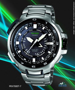 prx7001t- protrek stainless steel black white