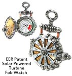 EER Patent Solar Powered Turbine Fob Watch