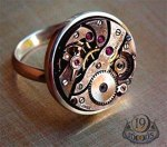 Steampunk watch ring niffer desmond pittsburg