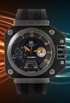 UK Helicop Mechanical Carbon Fiber Cube - Dual time