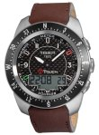 Tissot Men's T0134204620700 T-Touch Expert Black Carbon Fiber Dial Watch