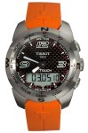 Tissot Men's T0134201720700 T-Touch Black Carbon Fiber Dial Watch