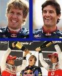 Sebastian Vettel, Mark Webber 2011