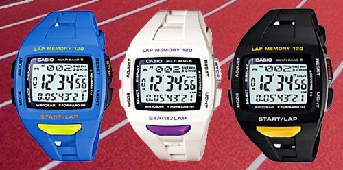 Casio stw-1000-1 stw-1000-2 stw-1000-7 runners lap timer