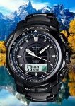 protrek prw-5100yt-1 black titan limited