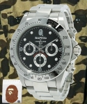 A Bathing Ape Type 3 Watch Stainless Steel