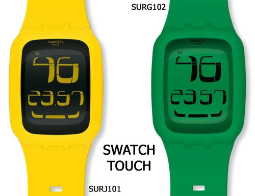 surg102 surj101 swatch touch watch swiss new 2012