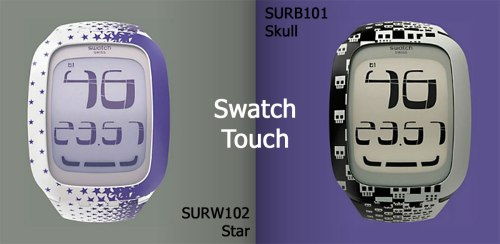 surw102 surb101 swatch touch watch new 2012 swiss