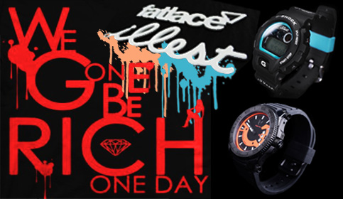 illist X g-shock dw6900 collaboration