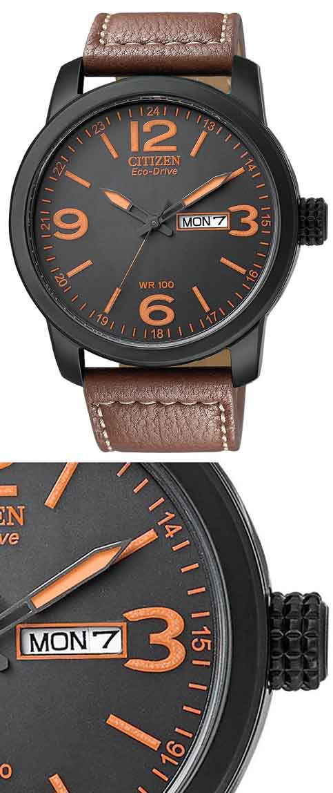 citizen_BM8475-26E eco-drive sport orange black ip day date cheap inexpensive