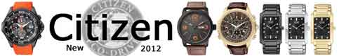 New Citizen Watches for 2012