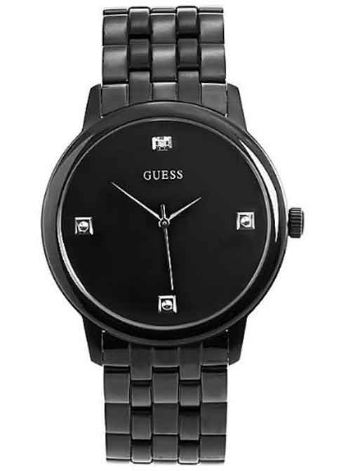 GUESS Black Enamel Interchangeable Mens Watch U13009G1