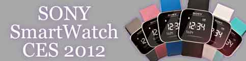 Sony SmartWatch 2012
