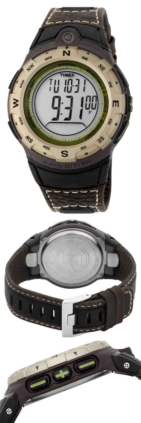 _timex_T42761_ timex expedition adventure tech compass watch