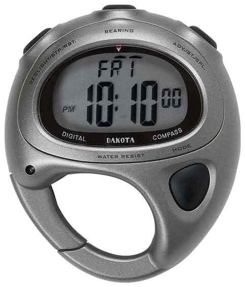 _woolrich_dakota_ mini compass clock timer alarm carabiner