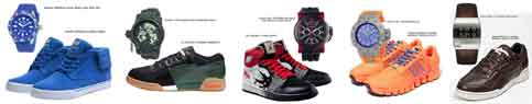 jordan beckham nike g-shock 2012_sneakers & watches