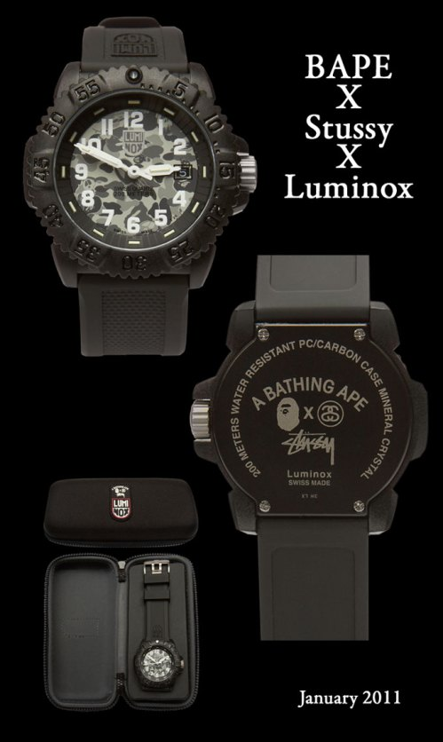 babe_x_stussy_x_luminox special limited edition 2011