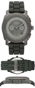 fossil s4701 machine stainless grey
