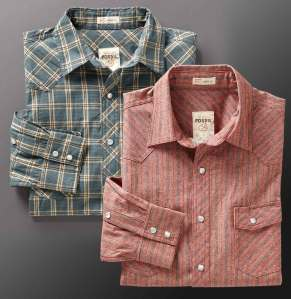 fossil_western_shirts rhett reed