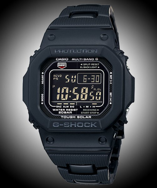 GW-M5610BC-1JF G-Shock Atomic & Solar Composite bracelet