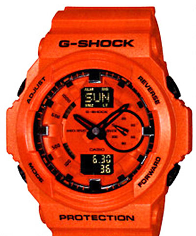GA-150A-4AJF New G-Shock