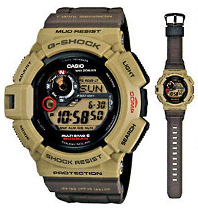 GW-9300ER-5JF Men in Military Colors - New Mudman 2012