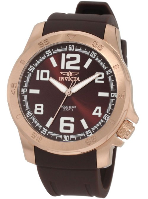 invicta_1906_specialty collection rose gold IP brown