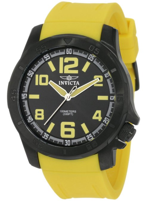 invicta_1907_specialty collection yellow ip black case