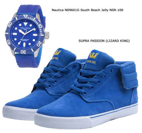 Nautica N09601G South Beach Jelly NSR-100, SUPRA PASSION (LIZARD KING)
