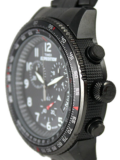 timex t49825dh side view military style chrono