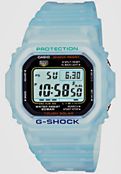 g-shock_G5600EB-2, light blue jelly, solar