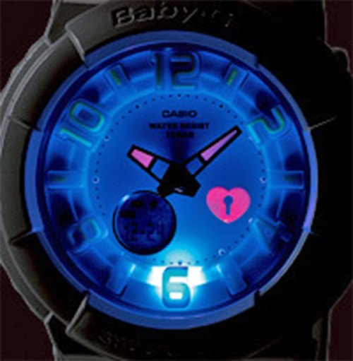 baby-g g-shock backlight lover's collection 2011 2012
