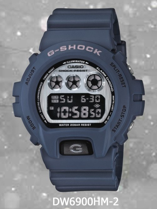 DW6900HM-2 g-shock new march 2012