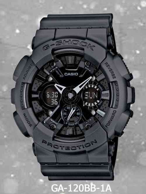 GA120BB-1A g-shock new march 2012