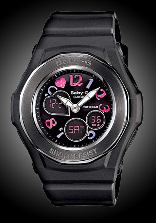 baby-g g-shock lover's collection 2011 2012 black