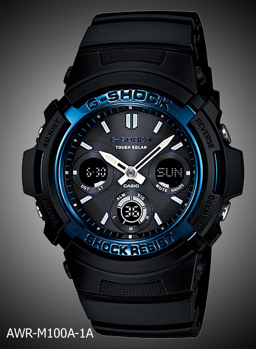 g shocks wrist spot