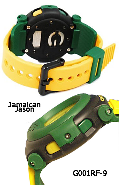 g001rf-9 g-shock Rastafarian Jamaican Jason shades of gray grey charlie sheen