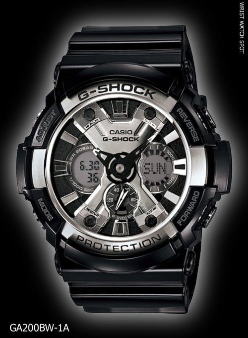 GA200BW-1A_g-shock new may 2012 garish black GA-200BW-1Ajf