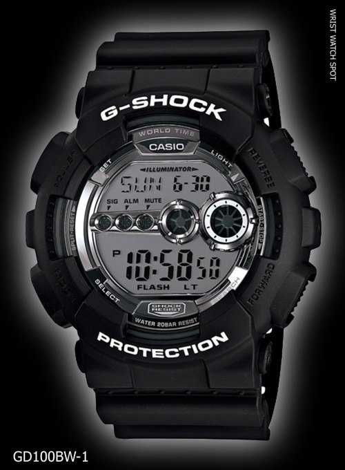 GD100BW-1_g-shock new may 2012 garish black gd-100bw-1jf