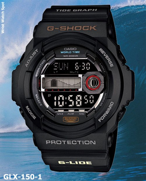 glx150-1 g-shock g-lide new may 2012 glx-150-1jf