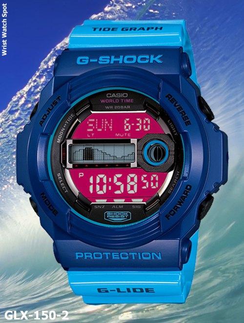 glx150-2 g-shock new may 2012 glx-150-2jf glide