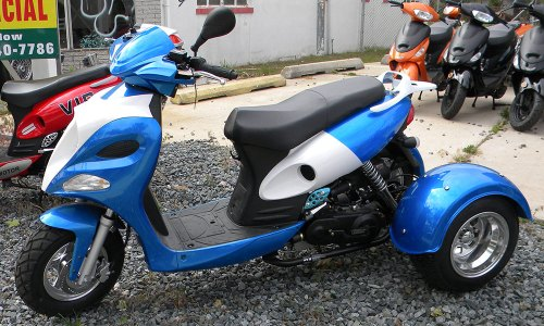 custom modification scooter moped rehoboth beach delaware rental sales