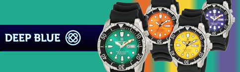deep blue watches protac 1000m diver
