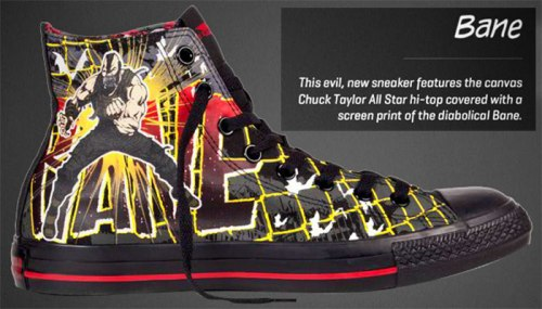 chuck Taylor bane evil sneakers high top special limited edition