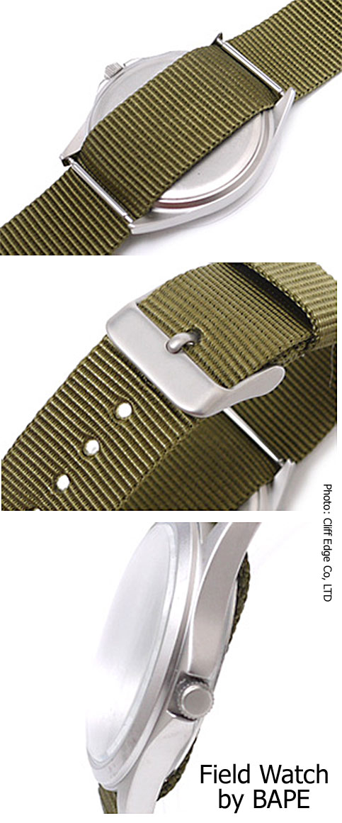bape_field_watch_2012 military inspired analog bathing ape
