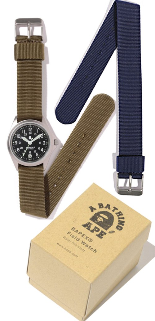bape_watch_field_2012 a bathing ape military inspired