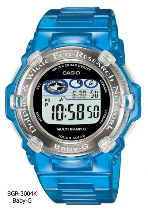 BGR-3004K_Baby-G i.c.e.r.c. collaboration watch whales dolphins love the sea and the earth earthwatch